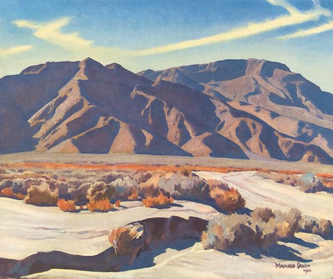 """""""Desert Ranges"""" 1940"""