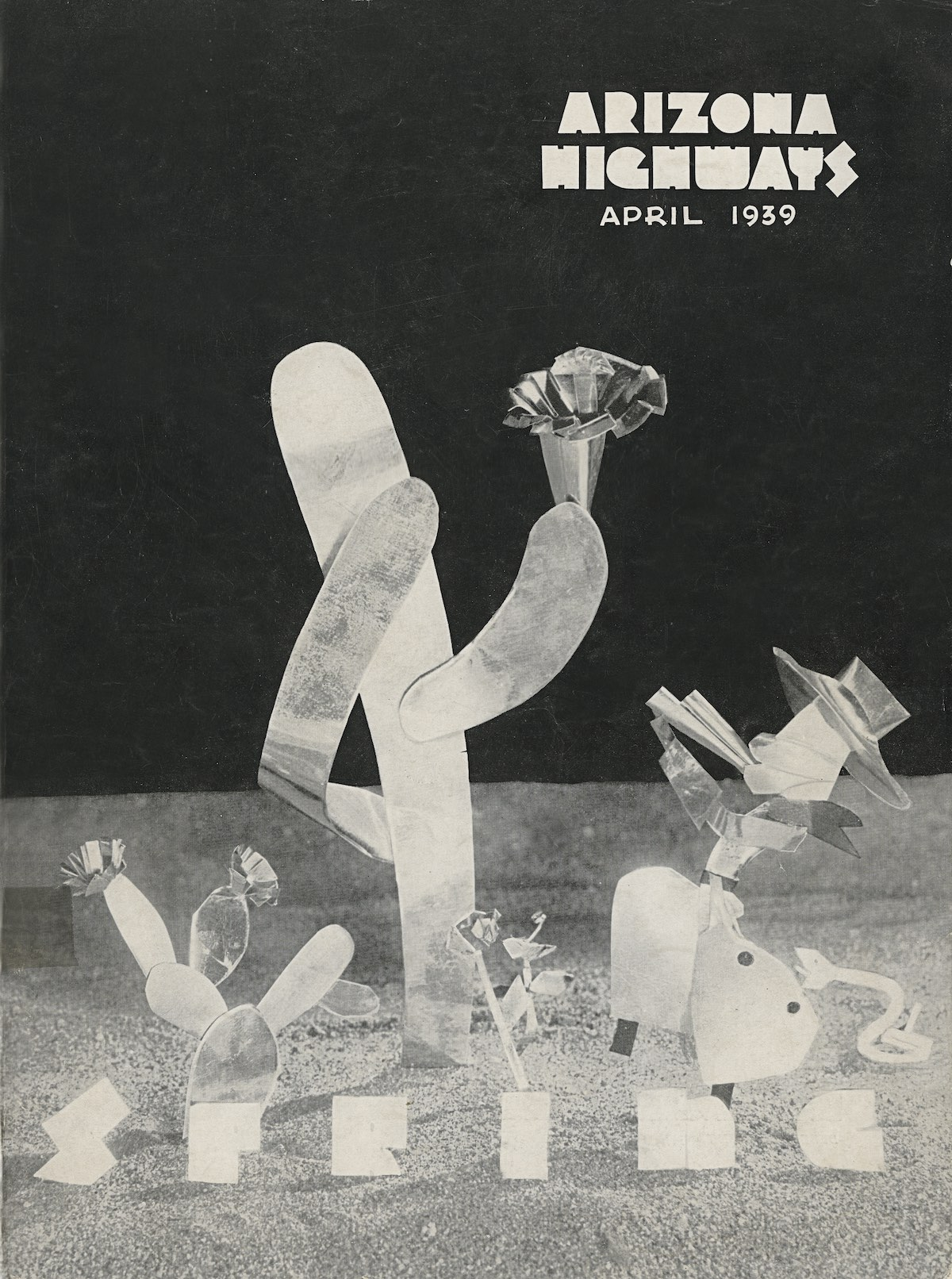 Arizona Highways April 1939 cover
