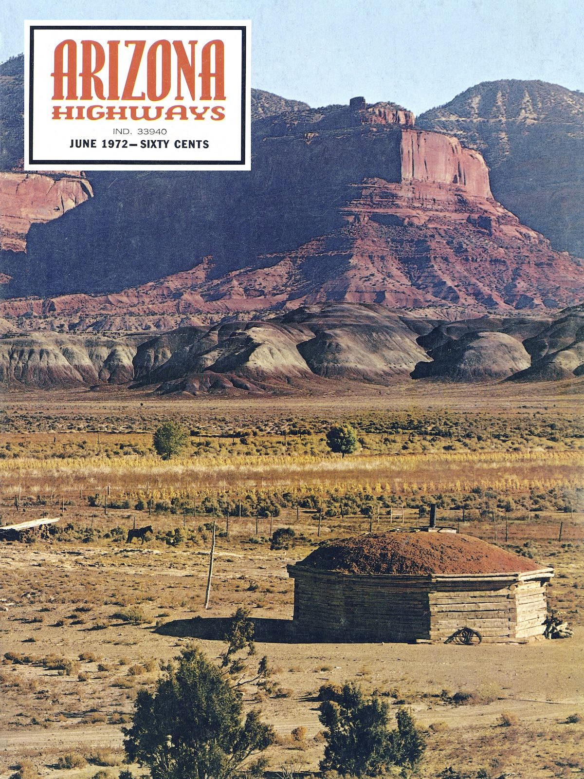 June 1972 cover of Arizona Highways