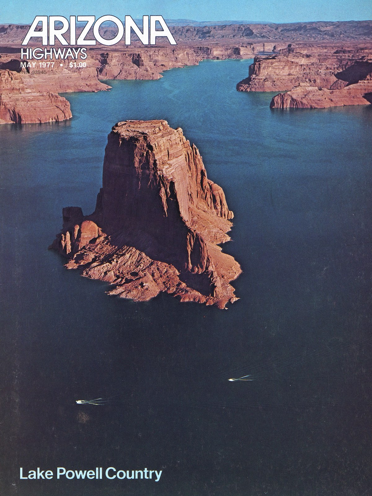 May 1977 cover of Arizona Highways
