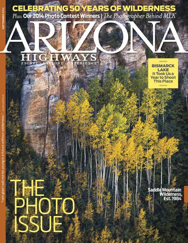 Arizona Highways September 2014 Cover
