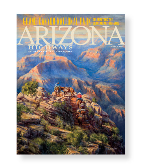 Arizona Highways February 2019 Front Cover