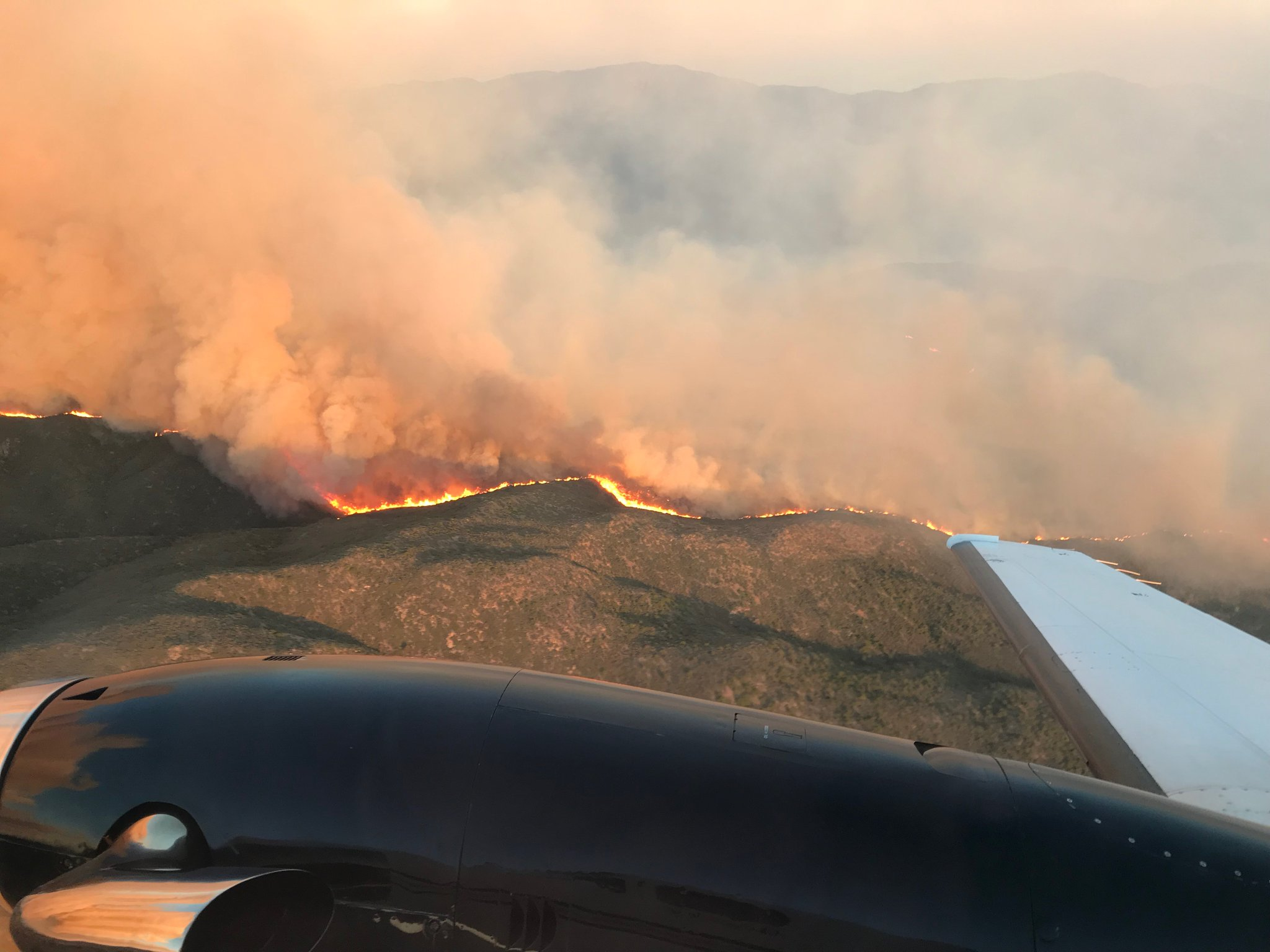 Cellar Fire near Prescott