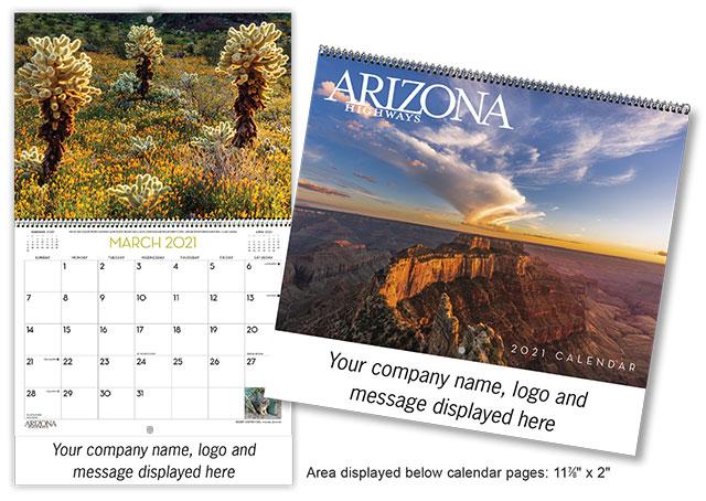 2021 Imprinted Calendar