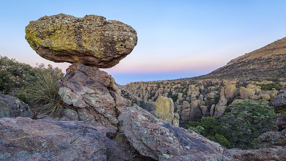 Balanced rocks and hoodoos are among the sights visible along Bonita Canyon Drive at Chiricahua National Monument. | Jeff Maltzman