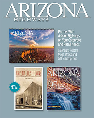 Arizona Highways Corporate Gift Brochure Front Cover