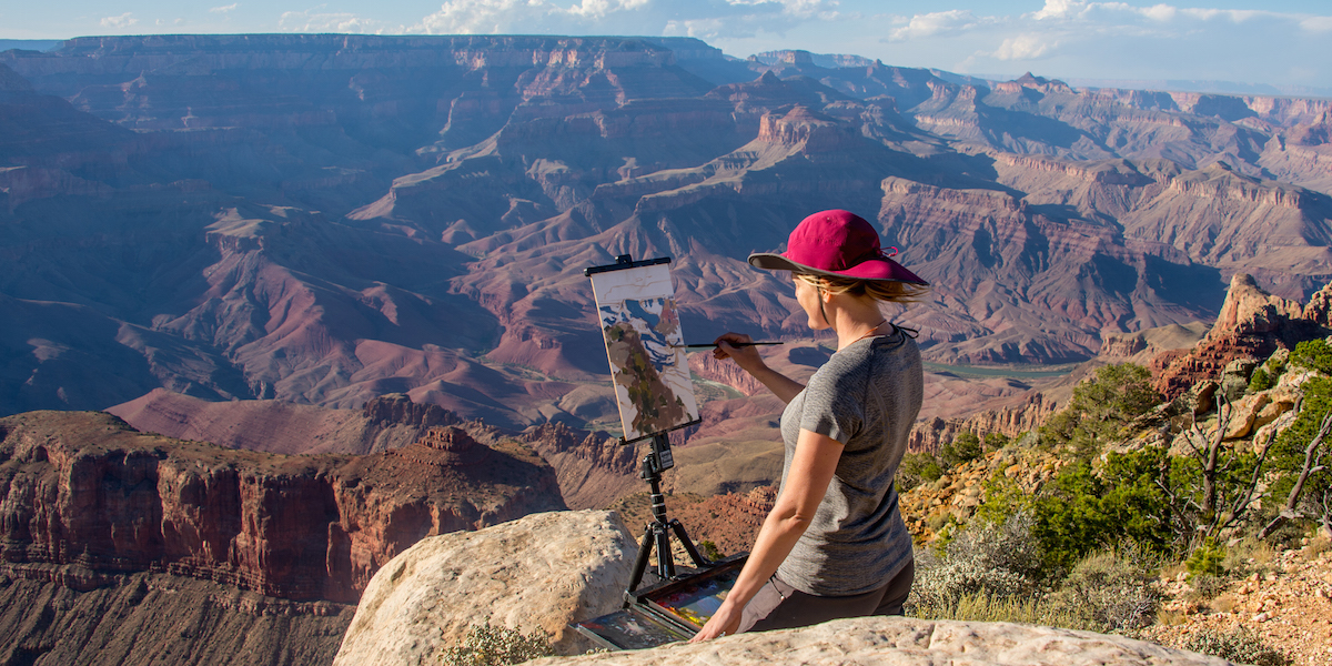 10 Years Of Celebrating Art At Grand Canyon National Park