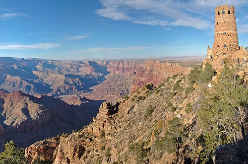 desert view watchtower grand canyon