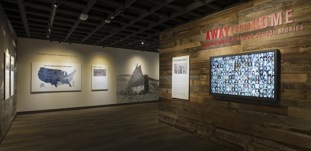 Native American boarding school exhibit at Heard Museum in Phoenix