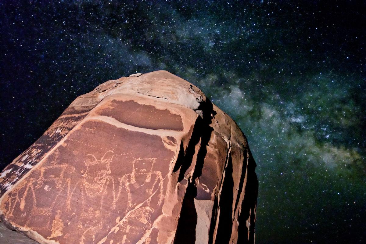 Petroglyphs at Utah's San Rafael Swell, courtesy of Jonathan Bailey