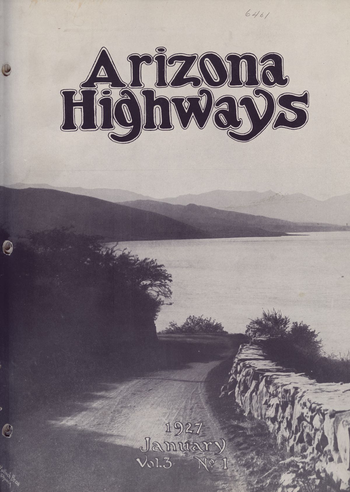 Arizona Highways Cover
