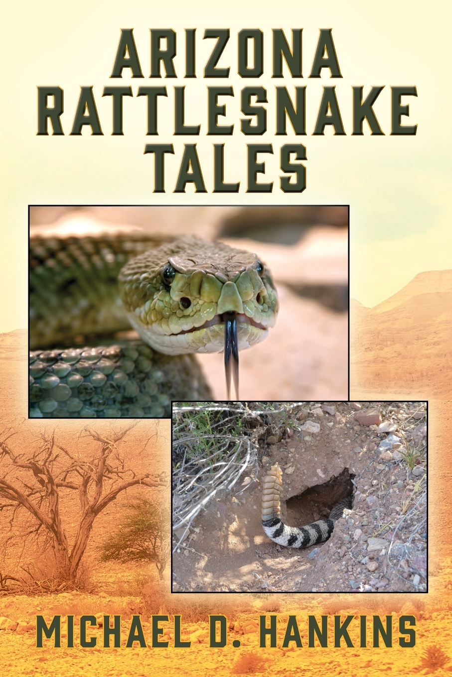 Arizona Rattlesnake Tales cover