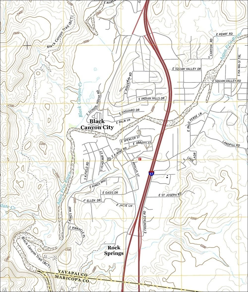 New Arizona USGS Maps Feature Bike Trails, Arizona Trail Segments