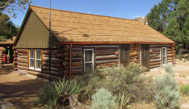 Preservation Project Completed at Historic Grand Canyon Cabin