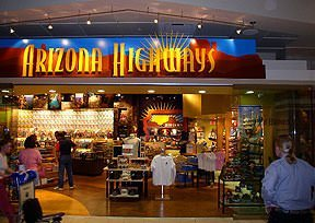 Arizona Highways Airport Gift Shop