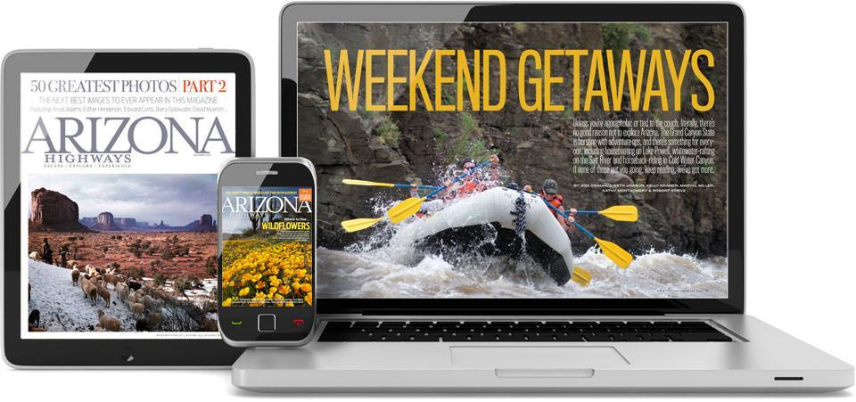 Subscribe to Arizona Highways Digital Edition