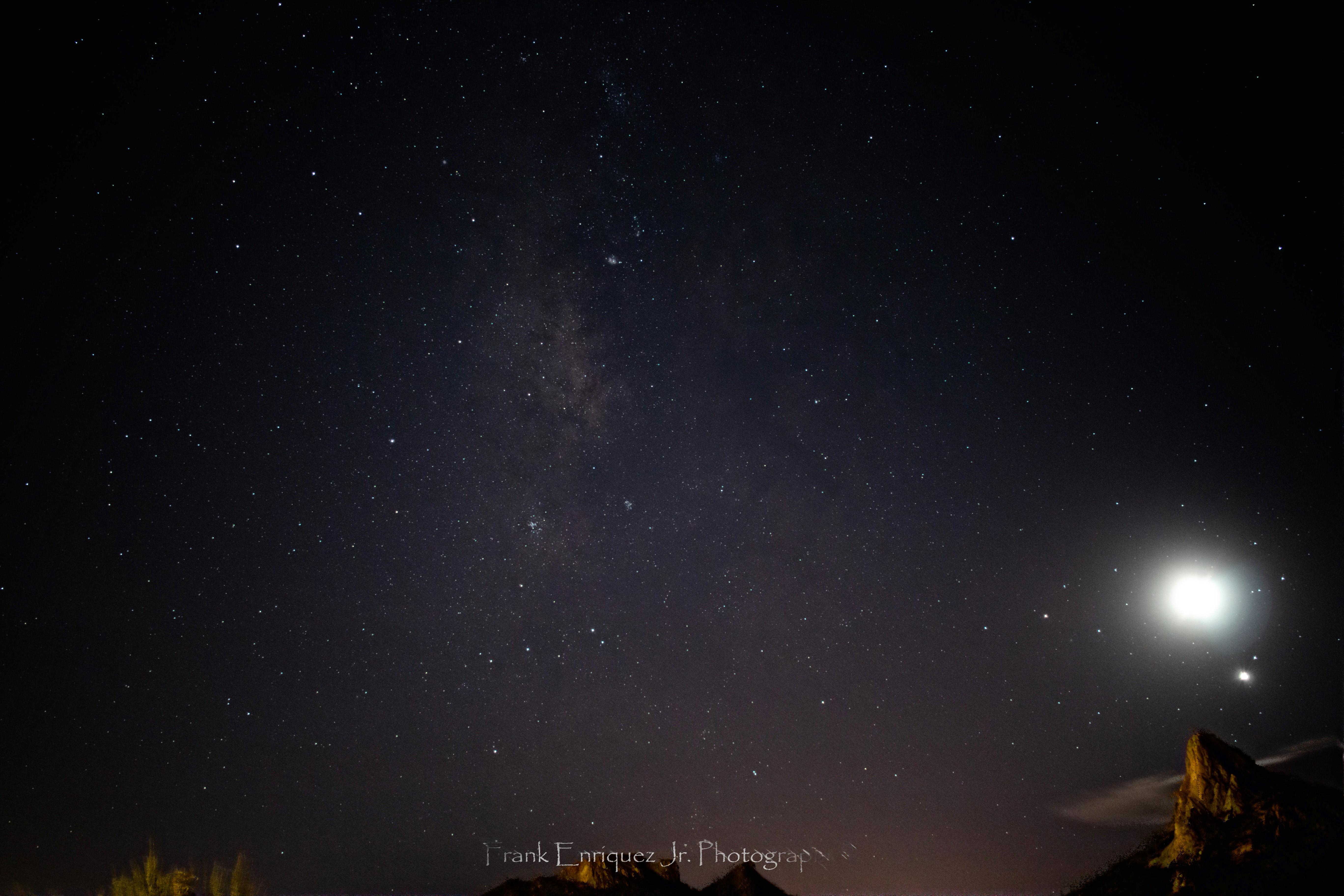 Photo by Frank Enriquez Jr.     Autumn Milky Way 2021