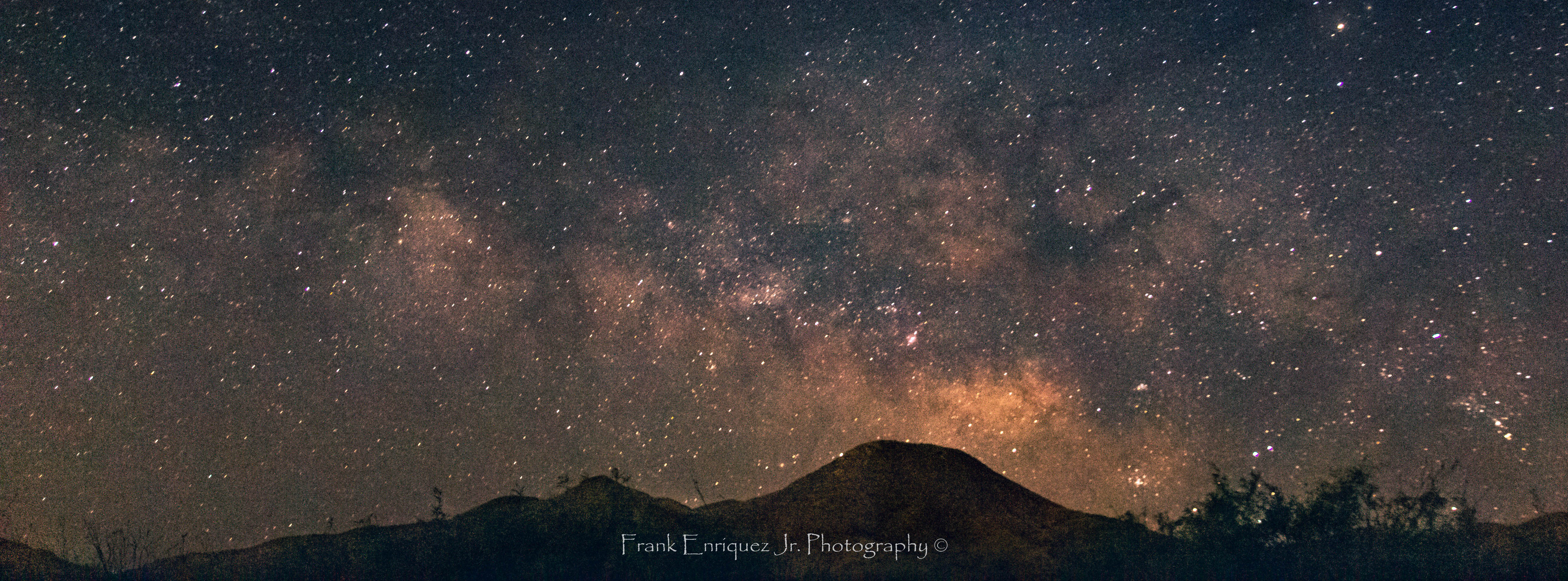 Photo by Frank Enriquez Jr.     Early Summer Milky Way